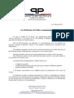 Incidents de Bobigny. Le communiqué de la préfecture de police de Paris