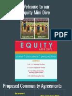 mini equity deep dive