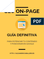 eBook SEO on-Page