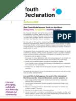 Solferino Youth Declaration (IFRC) - English