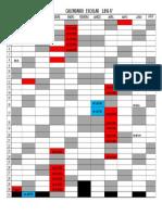 CALENDARIO 2016-2017