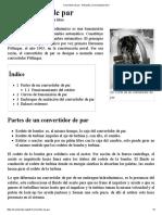Convertidor de Par - Wikipedia, La Enciclopedia Libre