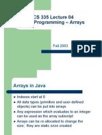 04 Java Arrays[1]