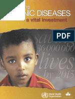 World Health Organization Preventing Chronic Diseases a Vital Investment