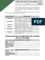 Evaluación de Software Bajo ISO 9126
