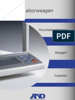 A&D Laborwaagen-Katalog 06/2010