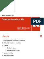 ABI Finantare Imobiliara Iulie 2016