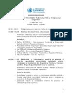 Agenda Forum RO