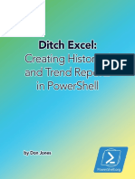 Ditch Excel Making Historical Trend Reports in Powershell