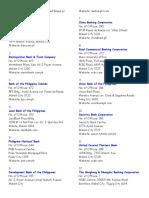 List of Universal Banks