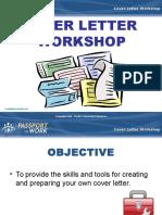 1Cover Letter Workshop