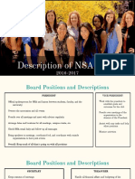 Description of NSA Roles