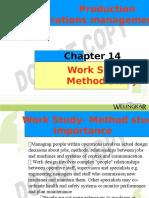 Ch 14 Work Study