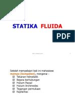 7. Statistika Fluida
