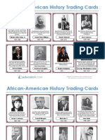 black history month essay african american history ethnicity  black history playing cards
