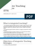 Integrative Teaching Strategies