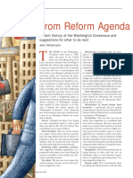 From Reform Agenda to Damaged Brand Name - John Williamson