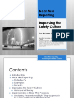 LEPC Conference - Near Miss Reporting Improving the Safety Culture
