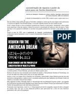 Os 10 Princípios Da Concentração de Riqueza e Poder Da Plutocracia - Noam Chomsky