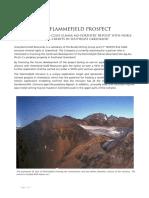 The Flammefjeld Prospect 2015