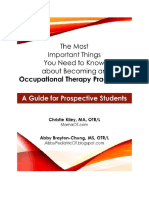 The Most Important Things You Need to Know About Becoming an Occupational Therapy Practitioner2