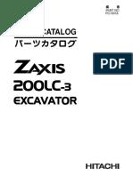 Manual de Partes ZX200LC-3