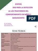 (ESPERI) Cuestionario para la detección de los trastornos del comportamiento en niños y adolescentes.pdf