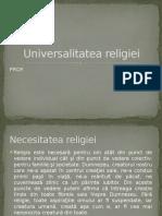 Universalitatea religiei