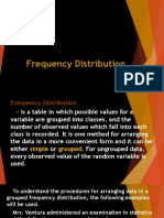 Frequency Distribution Math4
