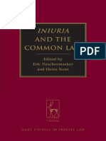 (Hart Studies in Private Law) Eric Descheemaeker, Helen Scott-Iniuria and the Common Law-Hart Publishing (2013)