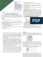 Avaliação Psicopedagógica Teste de Escrita e Leitura ORIENTAÇÃO