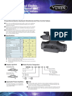 Yuken 8 EDFHG-AMN English Leaflet