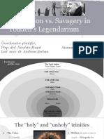 Civilization vs. Savagery in Tolkien's Legendarium
