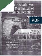 2012 Kinetics, Catalysis and Mechanism of Chemical Reactions, Volume 2 - Juranek
