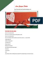 Love Coupon Folder