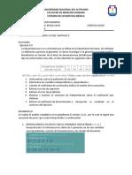 Estadística, Regresión Lineal - Leithold Dahl Apaza Cayo