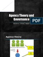 Agency Theory and Governance