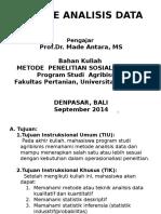 Kuliah 12-Metode Analisis Data.pptx