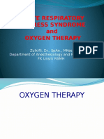 ARDS & Oxygen Therapy