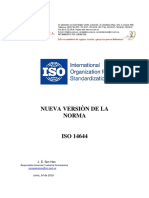 Norma ISO 14644 Partes 1 y 2 Revisadas