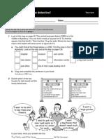 Sample worksheet 3.5 from geog.1 basics OxBox CD-ROM & teacher's file