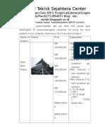 Catalog of Product in Safari Teknik Sejahtera
