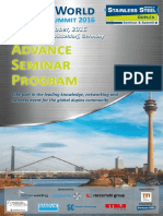 Duplex World 2016 Advance Seminar Program