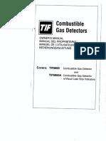 Manual detector gases Tif 8800a