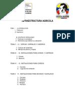 infraestructura agrìcola