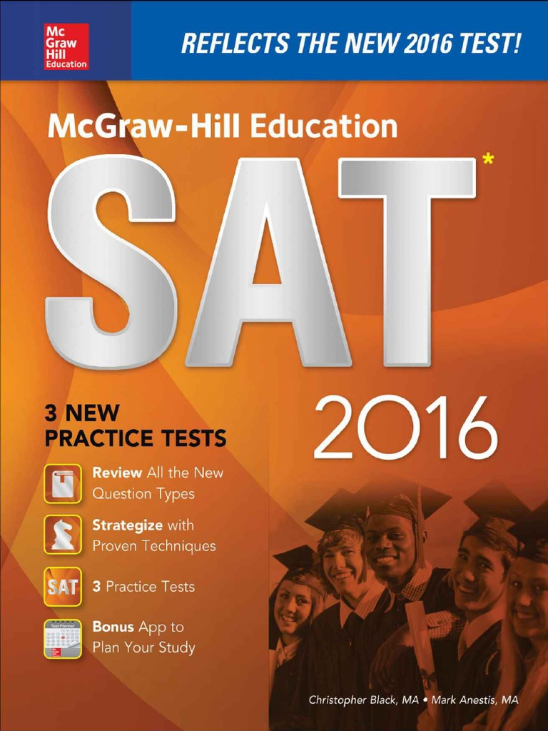 Mcgraw hilleducationsat2016 christopherblack sat act test fandeluxe Image collections