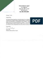 hrs distinguished member letter