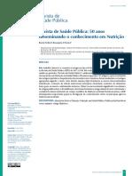 artigo científico saúde