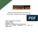 A ÉTICA ARISTOTÉLICA APLICADA AO RESTAURO.docx