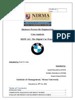 BPR BWM Ag Case Analysis
